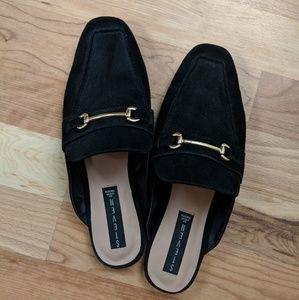 Steven Black Rilee Slip On Loafer Mules - 9.5